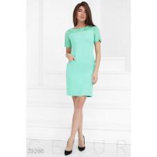 Ажурное женское платье