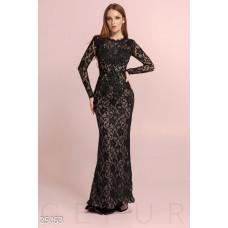 Гипюровое платье-годе
