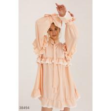 Oversize-платье с длинным рукавом